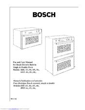 bosch hbn 46 series manuals rh manualslib com bosch hbn 4305 manual bosch hbn 531 manual