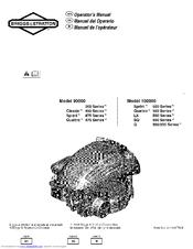 briggs & stratton 300 series manual