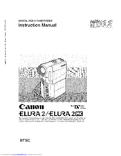 Canon ELURA 2 MC Instruction Manual