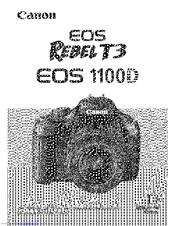 Canon REBEL T3 Manuals