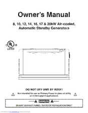 Generac Power Systems 17 Kw Lp Manuals Manualslib