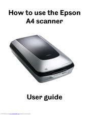 epson perfection 4490 photo manuals rh manualslib com epson perfection 4490 photo manuale Epson 4490 Photo Scanner