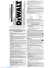 dewalt dc330 manuals rh manualslib com De Walt Cordless Blower De Walt DC410