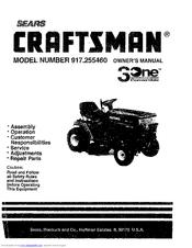 CRAFTSMAN 917.255460 OWNER'S MANUAL Pdf Download.