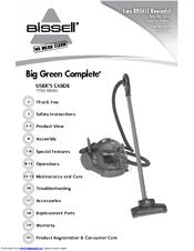 bissell big green complete deep cleaner vacuum 7700 manuals rh manualslib com Bissell Big Green Machine Directions Old Bissell Big Green Machine