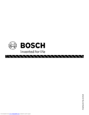 bosch she6ap02uc ascenta ecosense 24 built manuals rh manualslib com bosch dishwasher service manual download bosch dishwasher owner's manual download