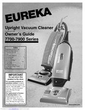 eureka 7700 series manuals rh manualslib com eureka vacuum cleaner owner's manual eureka vacuum cleaner repair manual
