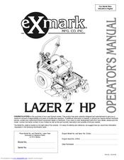 exmark lazer z hp manuals rh manualslib com Exmark Mower Parts Diagram parts manual exmark lazer z lz27kc604