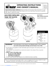 mr heater mh30ts manuals rh manualslib com mr heater user guide Mr. Heater Garage Heaters