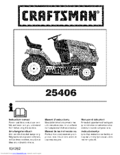 Craftsman 25406 Instruction Manual