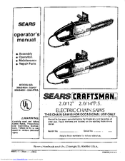 craftsman 358 34031 manuals rh manualslib com Craftsman 18 Chainsaw Owners Manual Craftsman 18 Chainsaw Owners Manual