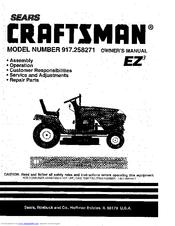 CRAFTSMAN 917 258271 OWNER'S MANUAL Pdf Download