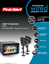 First Alert HS-4705-400 User's Manual