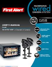 First Alert HS-4705-400 User Manual