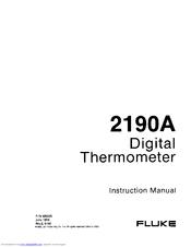 Fluke 2190a manuals.