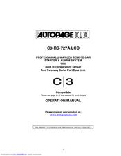 Autopage Alarm Wiring Diagram from data2.manualslib.com