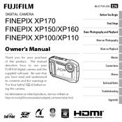 fujifilm finepix xp150 manuals rh manualslib com Fujifilm FinePix S1 Fujifilm FinePix Camera Manual
