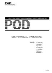 FUJI ELECTRIC UGX20 SERIES USER MANUAL Pdf Download