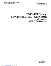 Fujitsu F2 MC-8FX Family Operation Manual