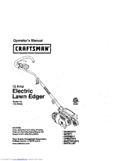 Craftsman 172.79183 Operator's Manual