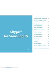 Samsung UN55F6350AF Getting Started Manual