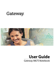 Gateway m675 audio