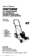 craftsman 917 377421 owner s manual pdf download rh manualslib com craftsman 875 series lawn mower parts Craftsman Lawn Mower Parts Diagram