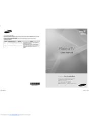 Samsung PN50B650S1F Manuals