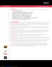 sony kdl 40ex400 bravia ex series lcd television manuals rh manualslib com kdl-40ex400 manual pdf sony kdl-40ex400 service manual