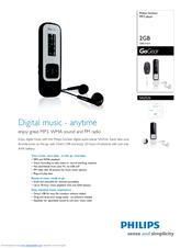 Philips SA2526/37B MP3 Player Driver for Windows 10