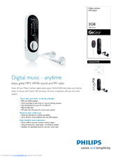 Philips SA2625/37 MP3 Player Windows 8