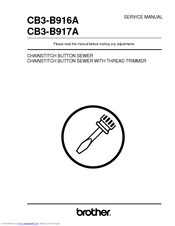 Brother CB3-B917A Service Manual