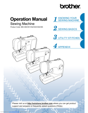 Brother 885-V63 Operation Manual