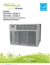 Remote Control For Soleus Air GM-CAC-08ESE GB-WAC-06SE-C Window Air Conditioner