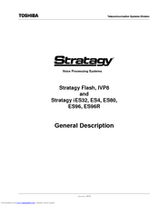 Toshiba Stratagy ES80 General Description Manual