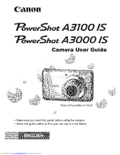 canon powershot a3000 is manuals rh manualslib com  powershot a3000is manual