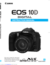 Canon EOS 10D Instruction Manual