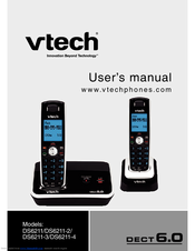 vtech cs6319 2 manuals rh manualslib com VTech DECT 6 0 Manual Model CS6329-3 VTech Cordless Phone DECT 6 0 User Manual