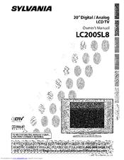 SYLVANIA LC200SL8 OWNERS MANUAL Pdf Download