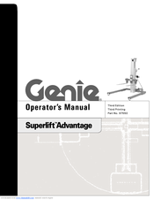Genie Superlift Advantage Operators Manuals