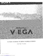 SONY WEGA KV-34HS420 Operating Instructions Manual