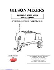 Gilson 1200MP Operator's Manual & Parts Manual