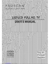 Proscan 47LED55SA Manuals