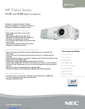 nec np200 xga dlp projector manuals rh manualslib com Akai TV Manual nec np200 manual