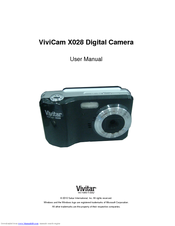 vivitar vivicam x028 manuals rh manualslib com