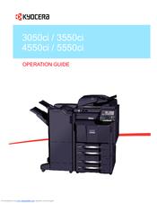 KYOCERA TASKALFA 3050CI OPERATION MANUAL Pdf Download