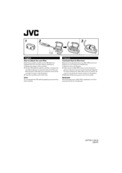 JVC core filter Instruction Sheet
