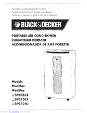 Black & Decker BPC08CJ Use And Care Book Manual