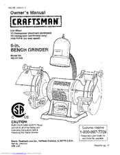 CRAFTSMAN 152.211240 Owner's Manual