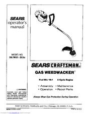 CRAFTSMAN 358 796131- 26 2CC OPERATOR'S MANUAL Pdf Download
